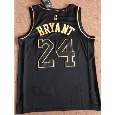 black and gold kobe bryant jersey for men