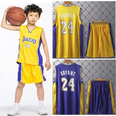 jersey and short kobe bryant for kids