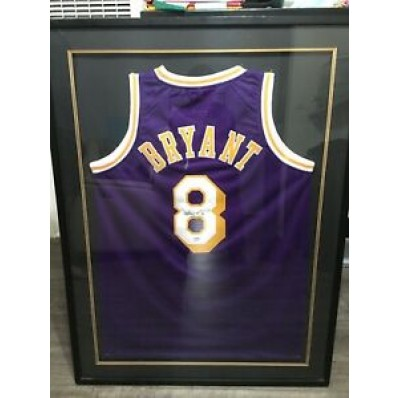 kobe bryant authentic signed jersey