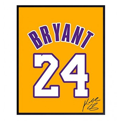kobe bryant jersey for wall