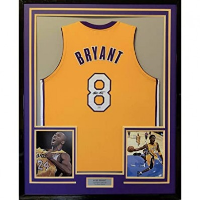 kobe bryant jersey picture frame