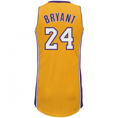 kobe bryant los angeles lakers adidas authentic dress jersey