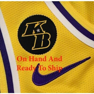 kobe bryant patch for jersey