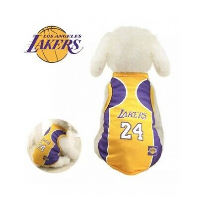 lakers 24 kobe jersey for dogs
