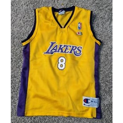 lakers kobe number 8 jersey for kids